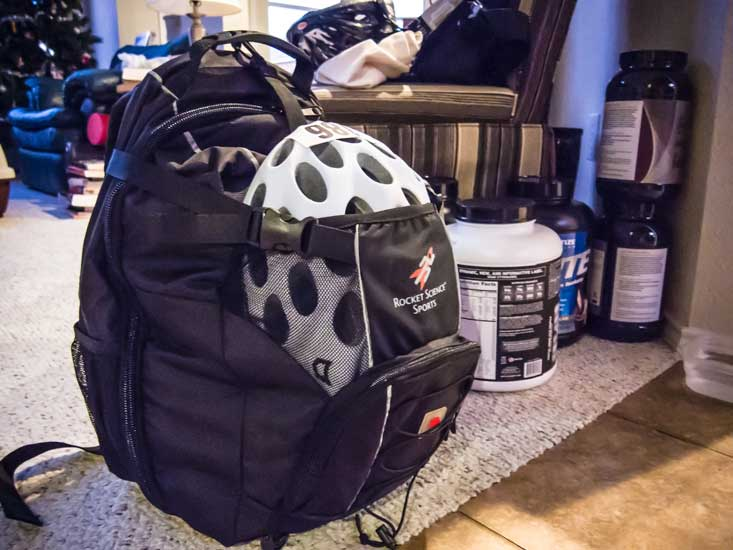 Packed and ready.