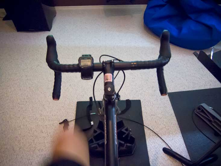 My view from the trainer.