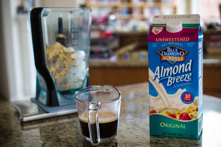 I prefer Blue Diamond's Almond Breeze brand, but Silk works well, too. Just don't get the sweetened stuff.