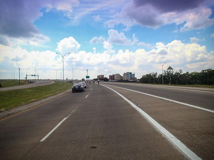 The Wichita Falls skyline.