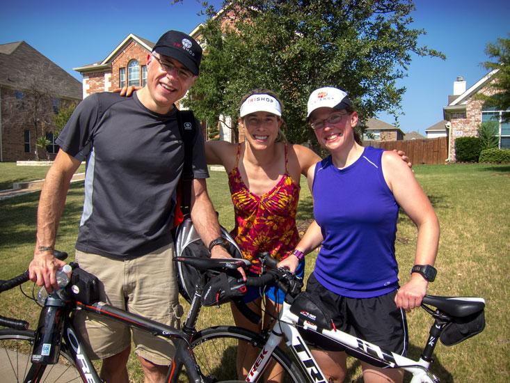 Me, Teri, and Audra.